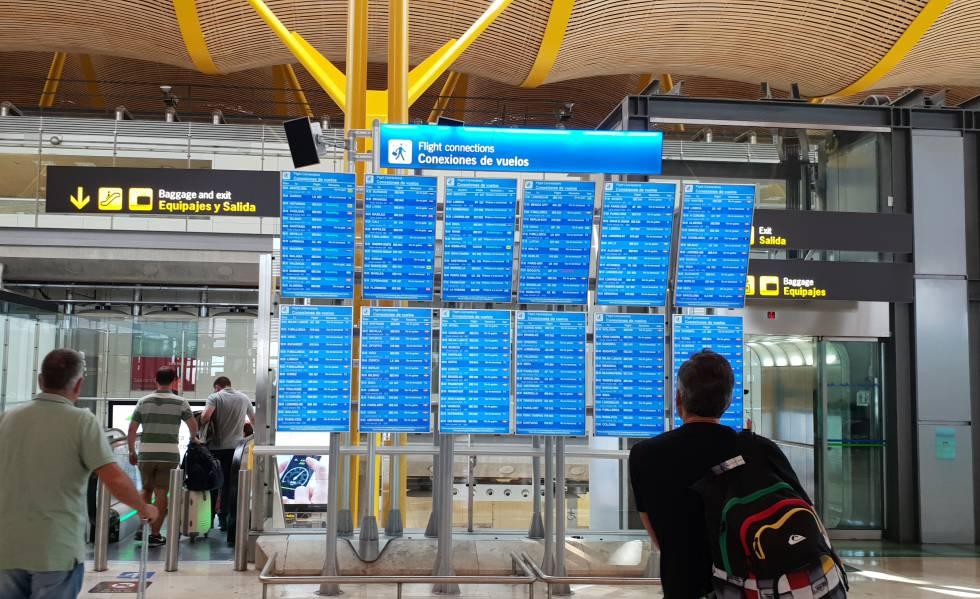 Terminal 1 Aeropuerto Barcelona