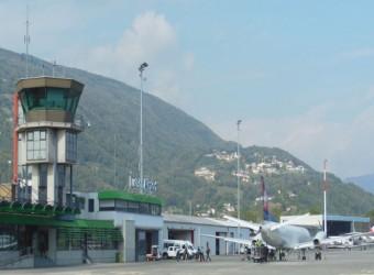 Parken Flughafen Lugano