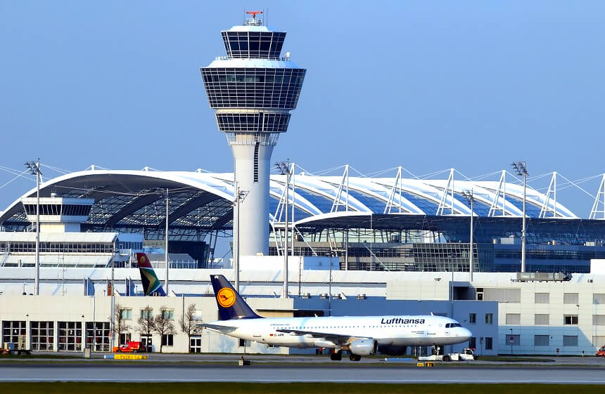 Parken Flughafen München