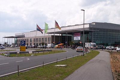 Parken Flughafen Weeze