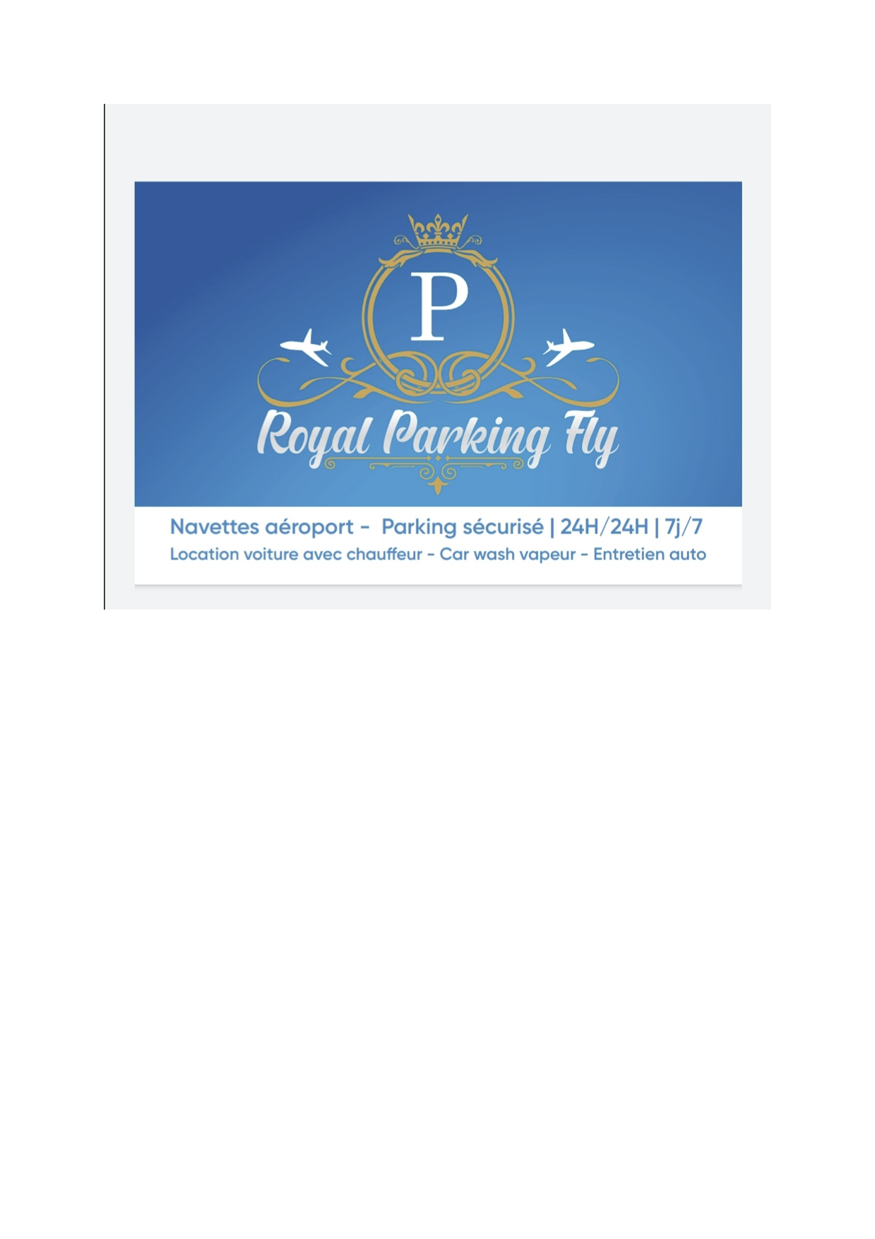 Royal Parking Fly