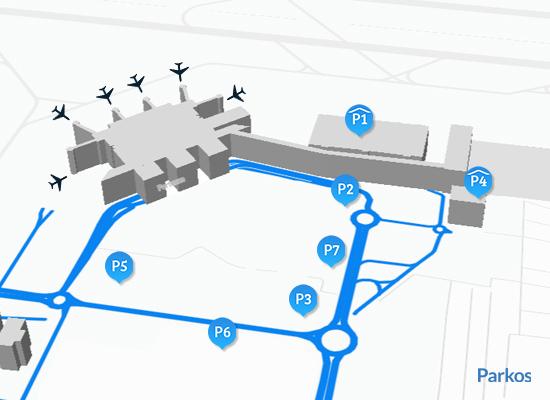 mappa Parcheggio Aeroporto Venezia
