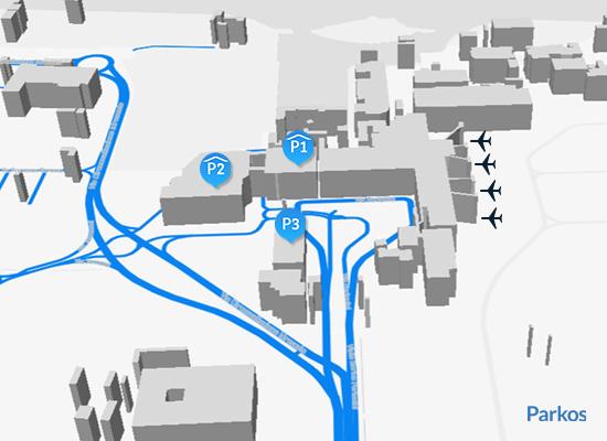 mappa parcheggio Linate